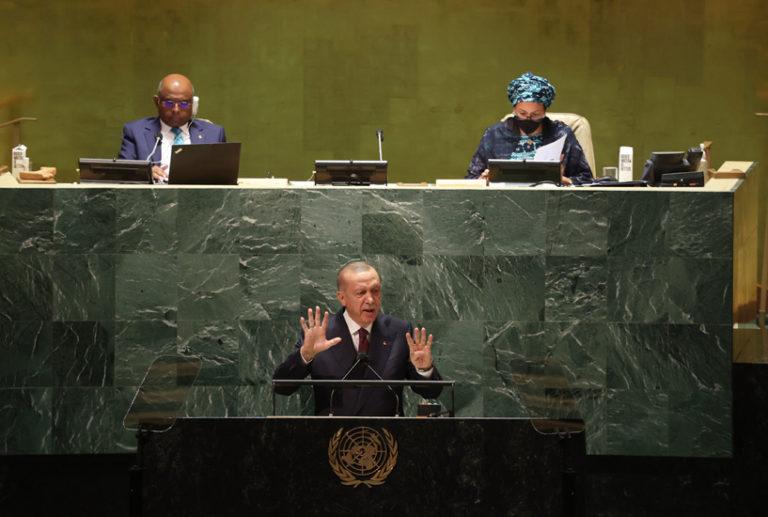 Erdogan Calls on UN to Recognize Turkish-Occupied Cyprus