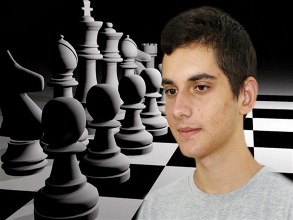 Greek Chess Grandmaster Nikola Theodrou