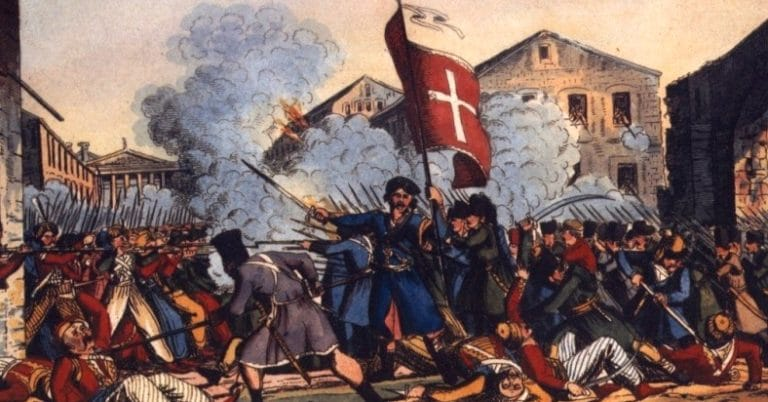 The Liberation Of Tripolitsa in The Greek War of Independence