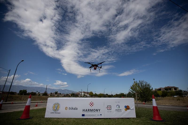 Trikala medicine-drone