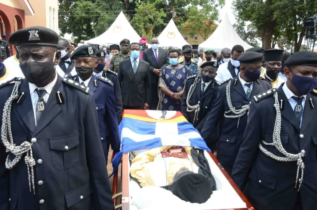 Jonah Lwanga funeral Uganda