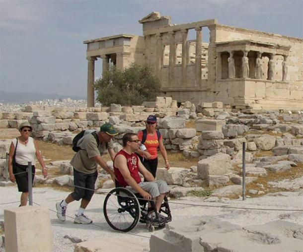 Life for the Disabled in Greece a Constant Struggle