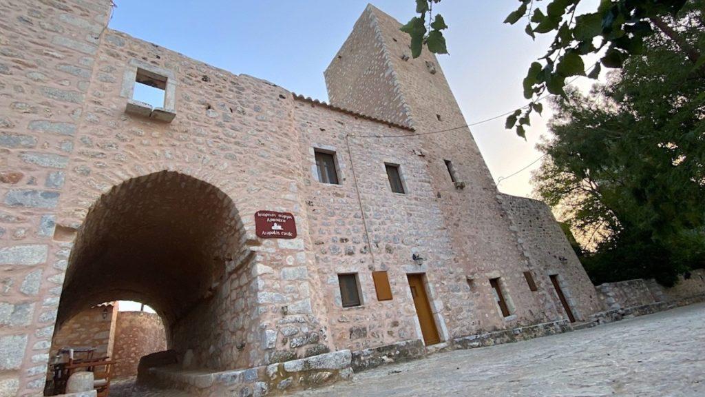 Arapakis Castle Mani