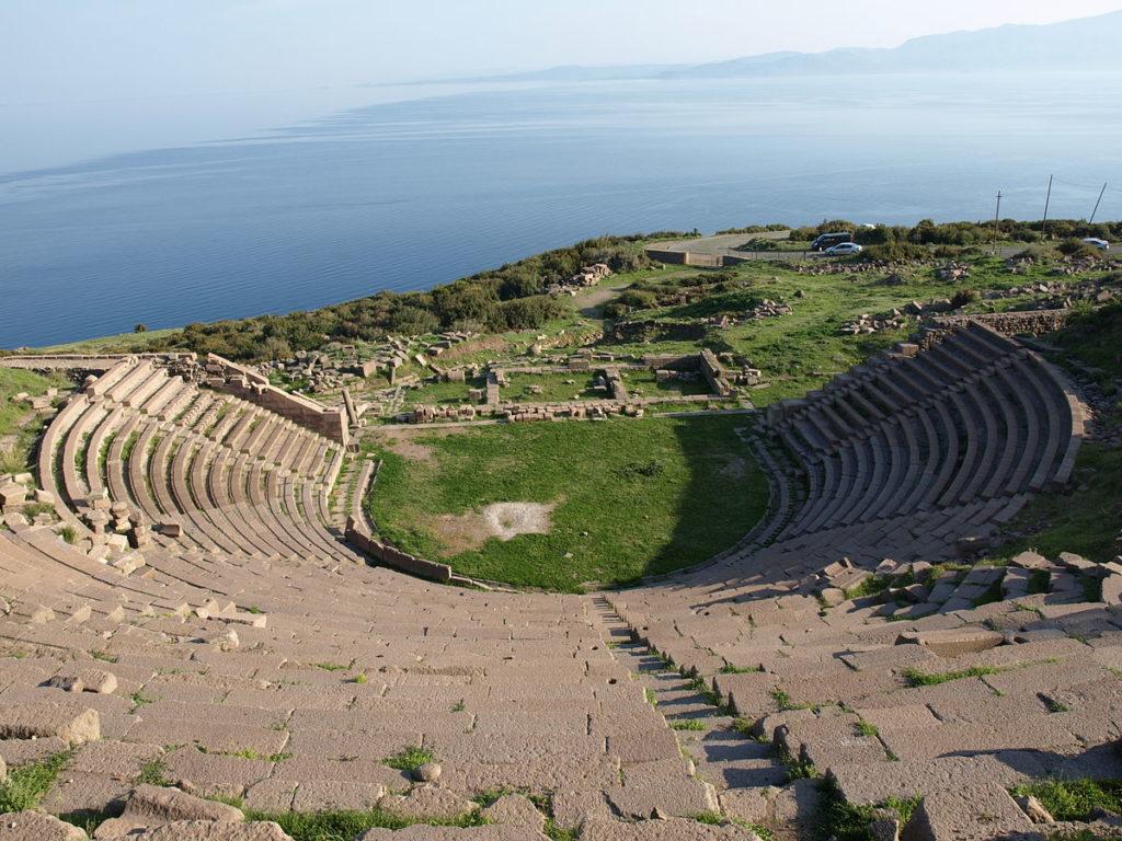 Antik Yunan Tiyatrosu, Assos, Türkiye