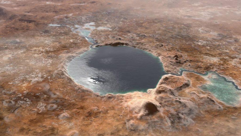 Mars Jezero