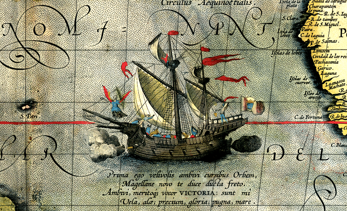 Greek sailors Magellan