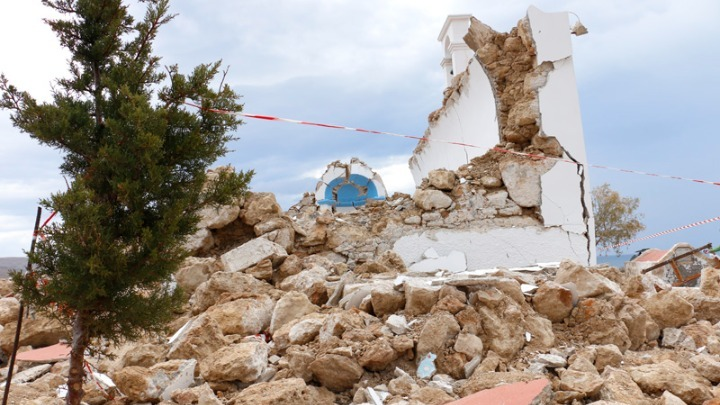 earthquake Crete videos
